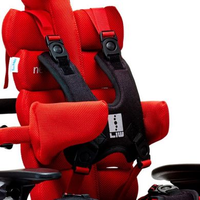Side supports system, vest and stabilising straps